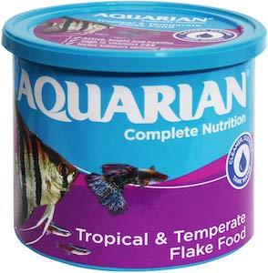 AQUARIAN Complete Nutrition, Aquarium Tropical Fish Food