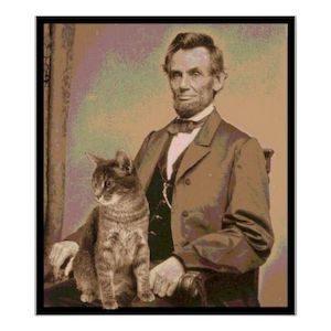 Abraham Lincoln Cat Dixie2