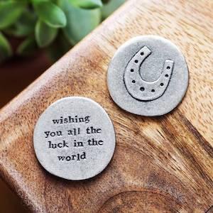Lucky Horseshoe Pocket Coin