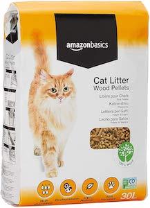 AmazonBasics Cat Litter Wood Pellets
