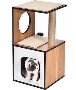 AmazonBasics Wooden Cat Tree