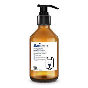 Aviform Vitalcoat Dog Coat And Skin Conditioner