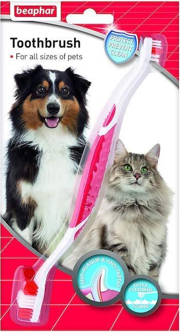 Beaphar Double-Ended Dog Toothbrush