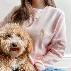 Bespoke Pet Portrait Sweatshirt