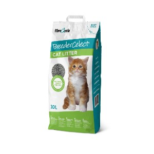 Breeder Celect Recycled Paper Pellet Non-Clumping Cat Litter