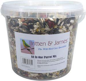 Britten & James Best All In One Parrot Mix