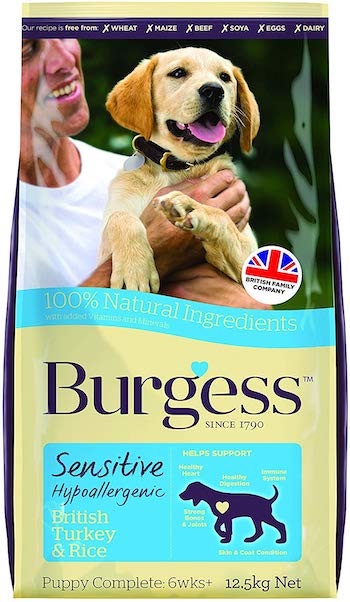 Supadog Burgess Sensitive Hypoallergenic Dog/Puppy Food