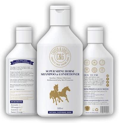 C&G Pets Super Shine Horse Shampoo and Conditioner