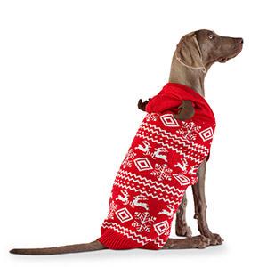 Fair Isle Reindeer Dog Jumper