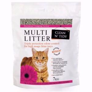 Clean 'n' Tidy Clay Fine Granule Ultra Clumping Multi Cat Litter