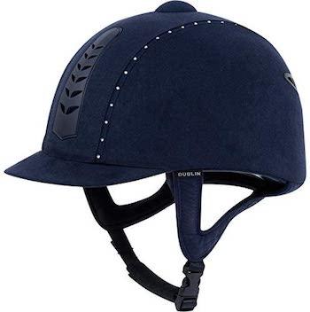 Dublin Silver Pro Diamante Riding Hat