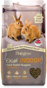 Excel Burgess Indoor Rabbit Nuggets