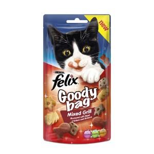 Felix Goody Bag Cat Treat Mixed Grill