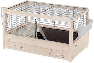 Ferplast FSC Wooden Rabbit Cage ARENA 80
