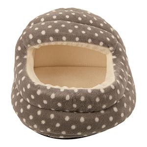 Small Animal Spotty Hoody Bed