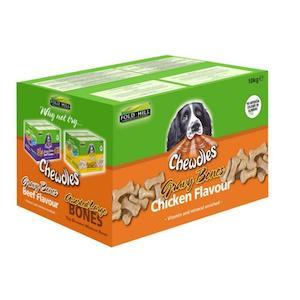 Fold Hill Chewdles Chicken Gravy Bones Dog Biscuits