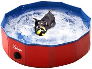 Fuloon Foldable Dog Paddling Pool