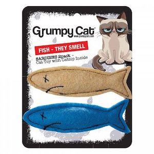 Grumpy Cat Grumpy Smelly Sardines