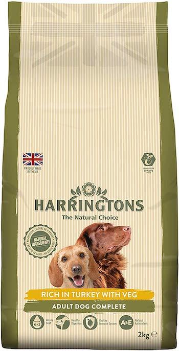Harringtons Complete Turkey & Veg Dry Mix Dog Food