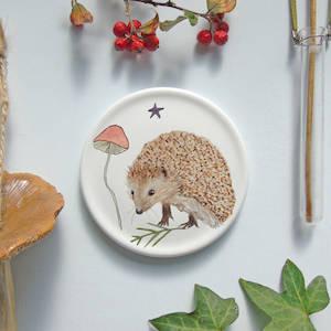 Hedgehog Mini Wall Plate