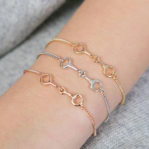 Love The Links Equestrian Themed Bracelet
