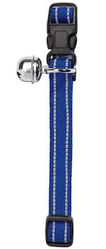Hunter Flashlight Blue Cat Collar