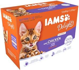 IAMS Delights Wet Food for Kittens