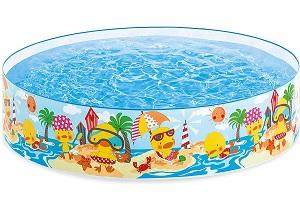 Intex 4' Duckling Snapset Pool