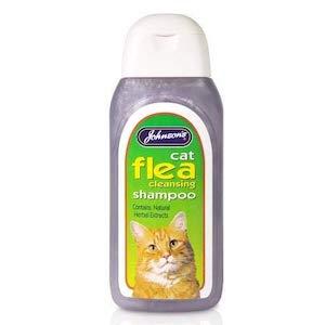 JVP Johnsons Vet Cat Flea Cleansing Shampoo