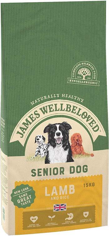 James Wellbeloved Complete Dry Senior Dog Food