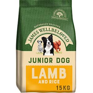 James Wellbeloved Junior Lamb and Rice