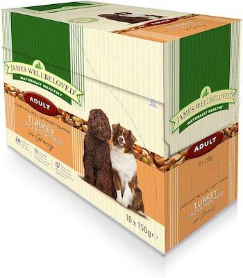 James Wellbeloved Complete Turkey, Rice & Vegetables Wet Dog Food