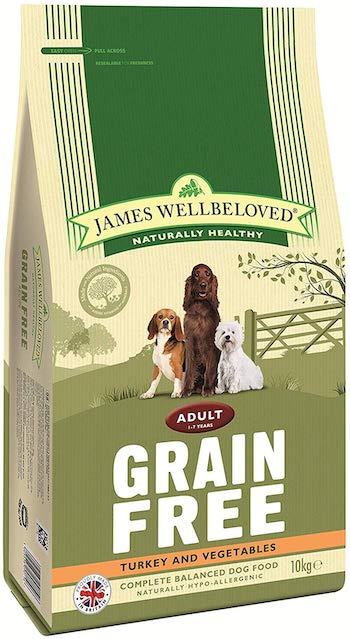 James Wellbeloved Grain Free Adult Turkey & Veg Dry Food