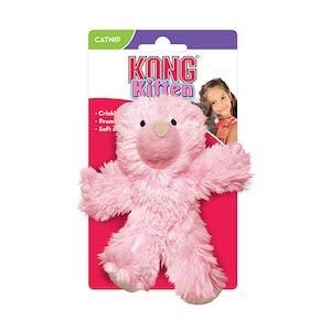 KONG Kitten Teddy Bear Catnip Cat Toy