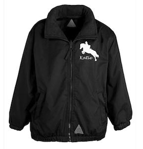 Child's Personalised Riding Jacket