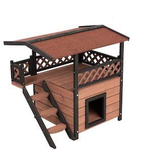 Maisonette Outdoor Cat House