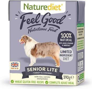 Naturediet Feel Good Senior Lite Complete Wet Food