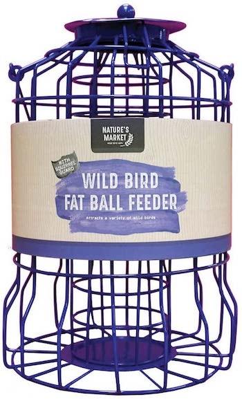 Nature's Market Squirrel Guard Fat Ball Feeder