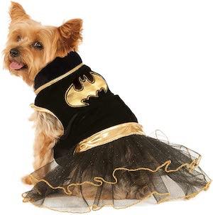 DC Comics Batgirl Pet Dog Costume
