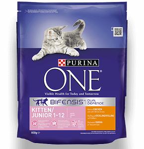 PURINA ONE Kitten Chicken & Whole Grains Cat Food