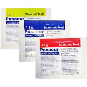Panacur Wormer Granules