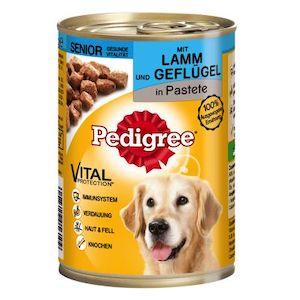 Pedigree 7+ Wet Food For Senior Dogs 12 Pack