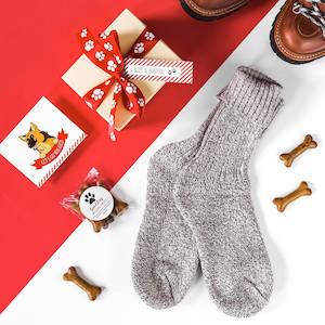 Personalised Dog Walking Socks Set