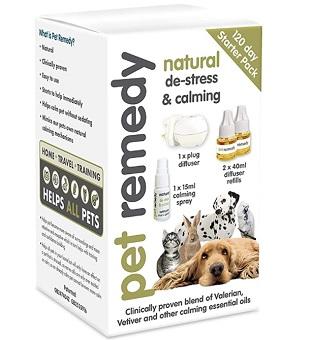 Pet Remedy Natural De Stress & Calming Kit