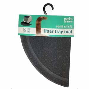 Pets at Home Semi-Circle Litter Mat
