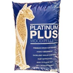 Platinum Plus Wood Pellet Cat Litter