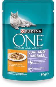 Purina One Cat Wet Food Coat & Hair Ball
