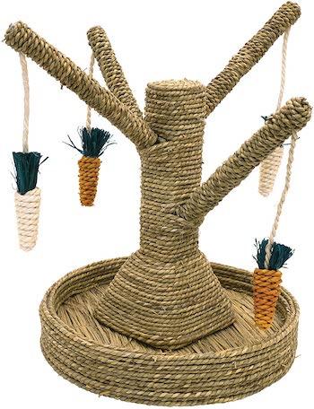 Rosewood Boredom Breaker Bunny Fun Tree