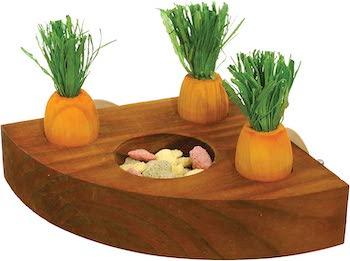 Rosewood Boredom Breaker Carrot Toy 'n' Treat Holder