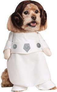 Star War Princess Leia Pet Dog Costume